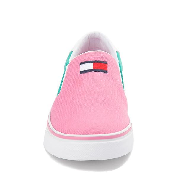 alternate view Tommy Hilfiger Arrin Slip On Casual Shoe - Little Kid / Big Kid - Pink / Color-BlockALT4