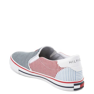 Alternate view of Tommy Hilfiger Arrin Slip On Casual Shoe - Little Kid / Big Kid - Navy / Multicolor