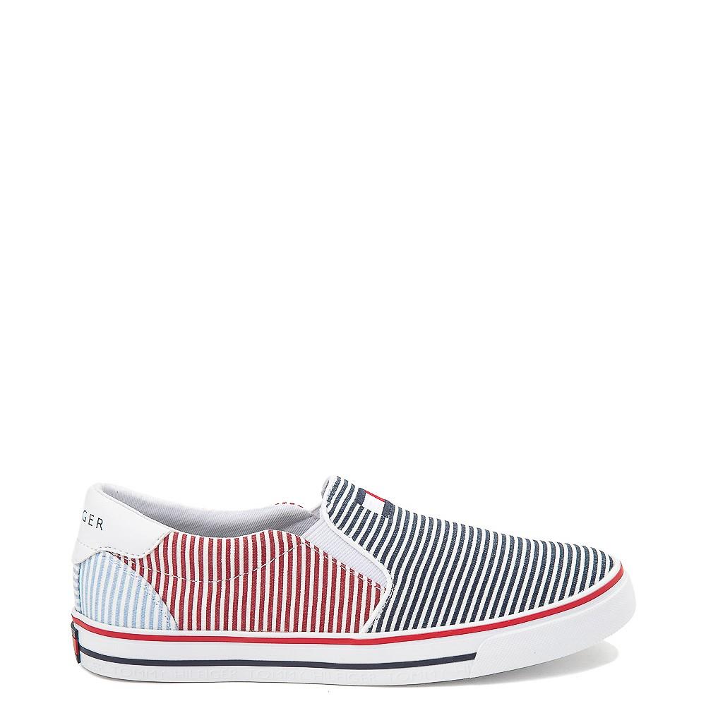Tommy Hilfiger Arrin Slip On Casual Shoe - Little Kid / Big Kid - Navy / Multicolor