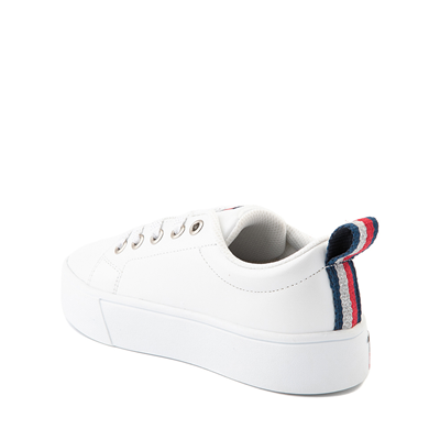 Alternate view of Tommy Hilfiger Eva Platform Casual Shoe - Little Kid / Big Kid - White