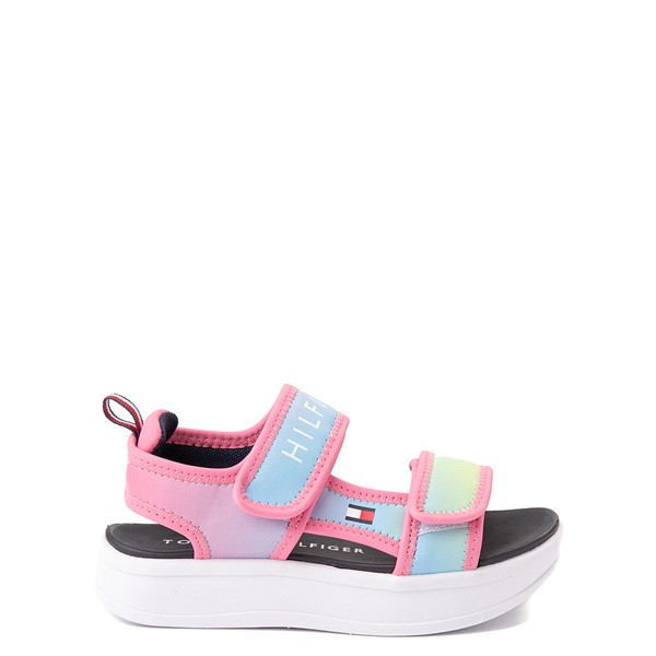 Main view of Tommy Hilfiger Leomi Platform Sandal - Little Kid / Big Kid - Pink Ombre