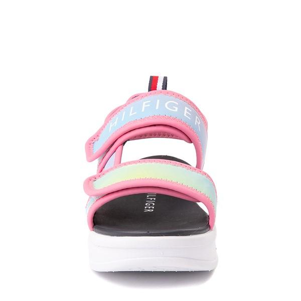 alternate view Tommy Hilfiger Leomi Platform Sandal - Little Kid / Big Kid - Pink OmbreALT4