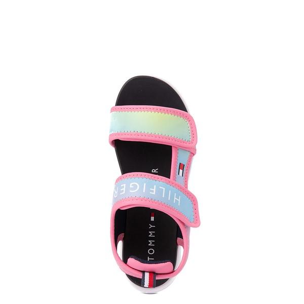 alternate view Tommy Hilfiger Leomi Platform Sandal - Little Kid / Big Kid - Pink OmbreALT4B