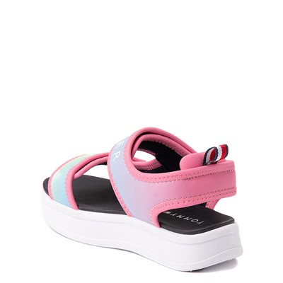 Alternate view of Tommy Hilfiger Leomi Platform Sandal - Little Kid / Big Kid - Pink Ombre