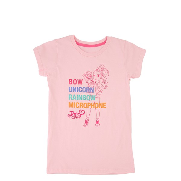 Main view of JoJo Siwa™ Bow Unicorn Tee - Little Kid - Pink