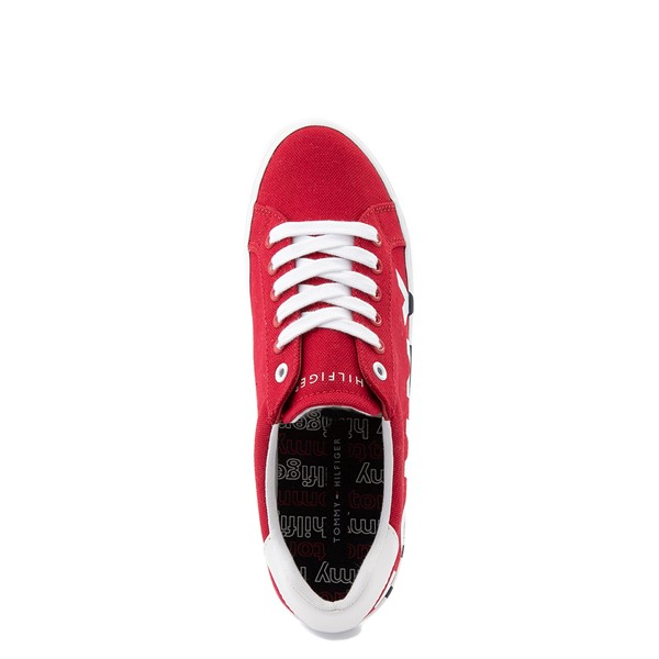 alternate view Womens Tommy Hilfiger Blasee Platform Casual Shoe - RedALT4B