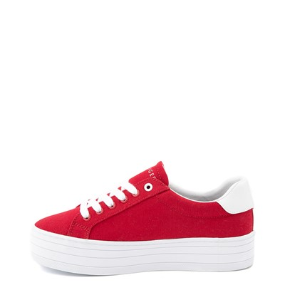 Alternate view of Womens Tommy Hilfiger Blasee Platform Casual Shoe - Red