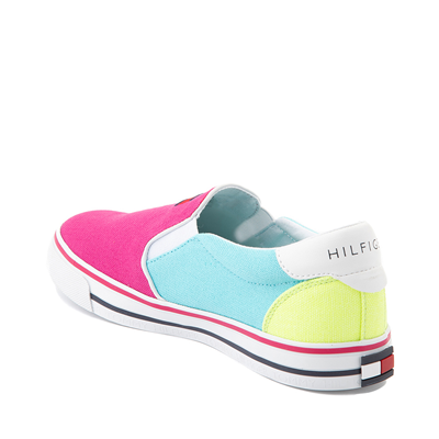 Alternate view of Womens Tommy Hilfiger Oaklyn Color-Block Slip On Casual Shoe - Multicolor