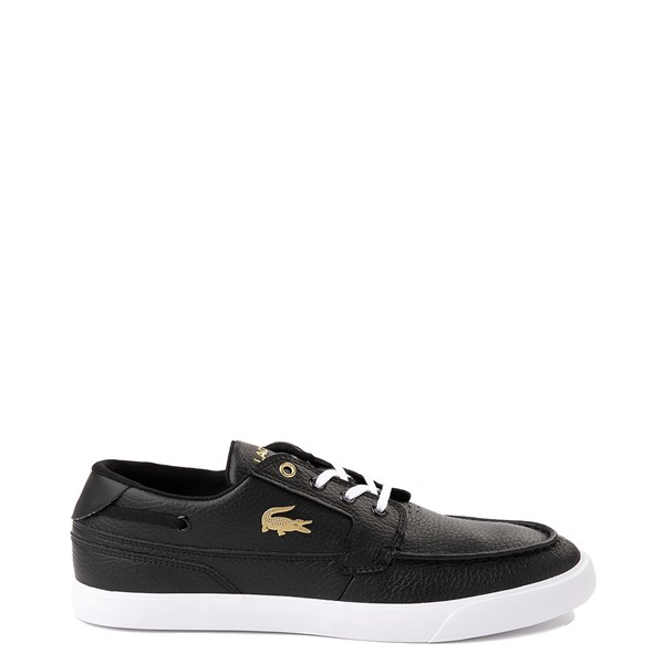Main view of Mens Lacoste Bayliss Deck Boat Shoe - Black