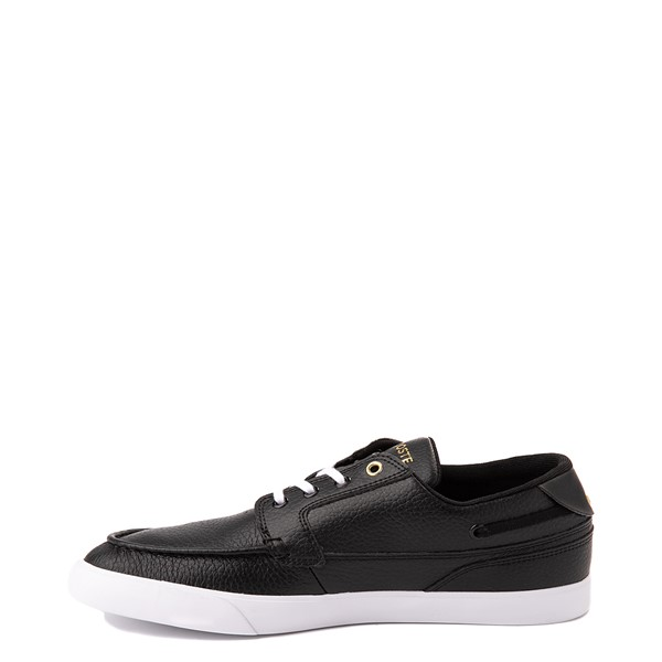 alternate view Mens Lacoste Bayliss Deck Boat Shoe - BlackALT1