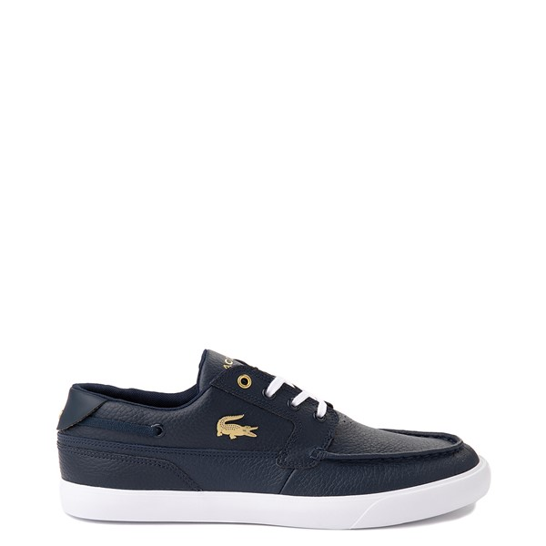 Mens Lacoste Bayliss Deck Boat Shoe - Navy