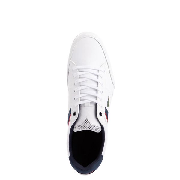 alternate view Mens Lacoste Chaymon Sport Sneaker - WhiteALT4B