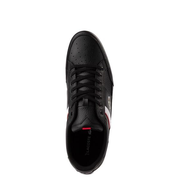 alternate view Mens Lacoste Chaymon Sneaker - BlackALT4B