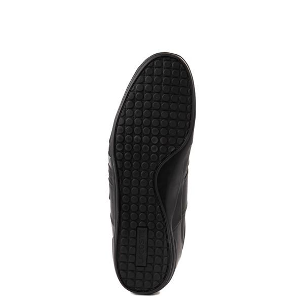 alternate view Mens Lacoste Misano Athletic Shoe - Black / SilverALT3