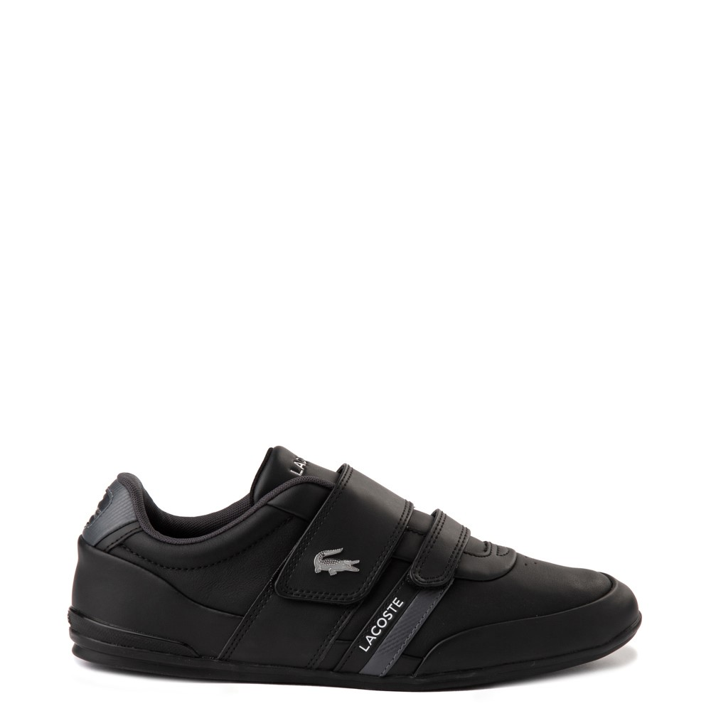 Mens Lacoste Misano Athletic Shoe - Black / Silver