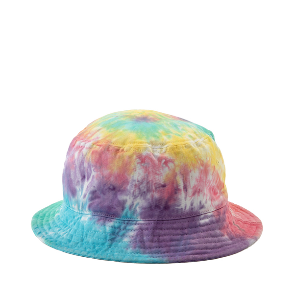 Pastel Tie Dye Bucket Hat - Multicolor