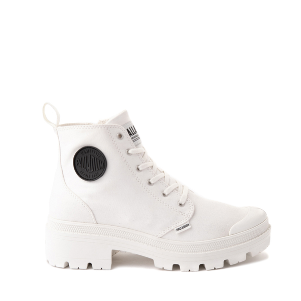 Main view of Womens Palladium Pallabase Boot - White