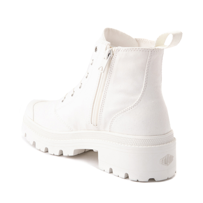 Alternate view of Womens Palladium Pallabase Boot - White