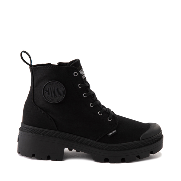Main view of Womens Palladium Pallabase Boot - Black