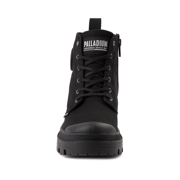 alternate view Womens Palladium Pallabase Boot - BlackALT4
