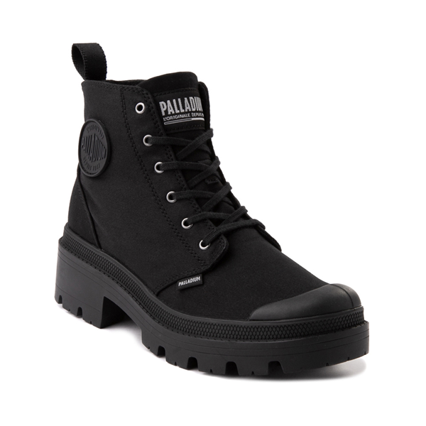 alternate view Womens Palladium Pallabase Boot - BlackALT5