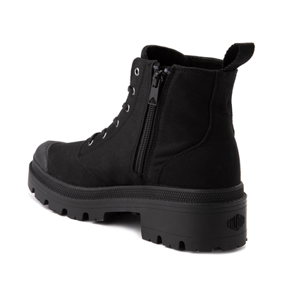 Alternate view of Womens Palladium Pallabase Boot - Black