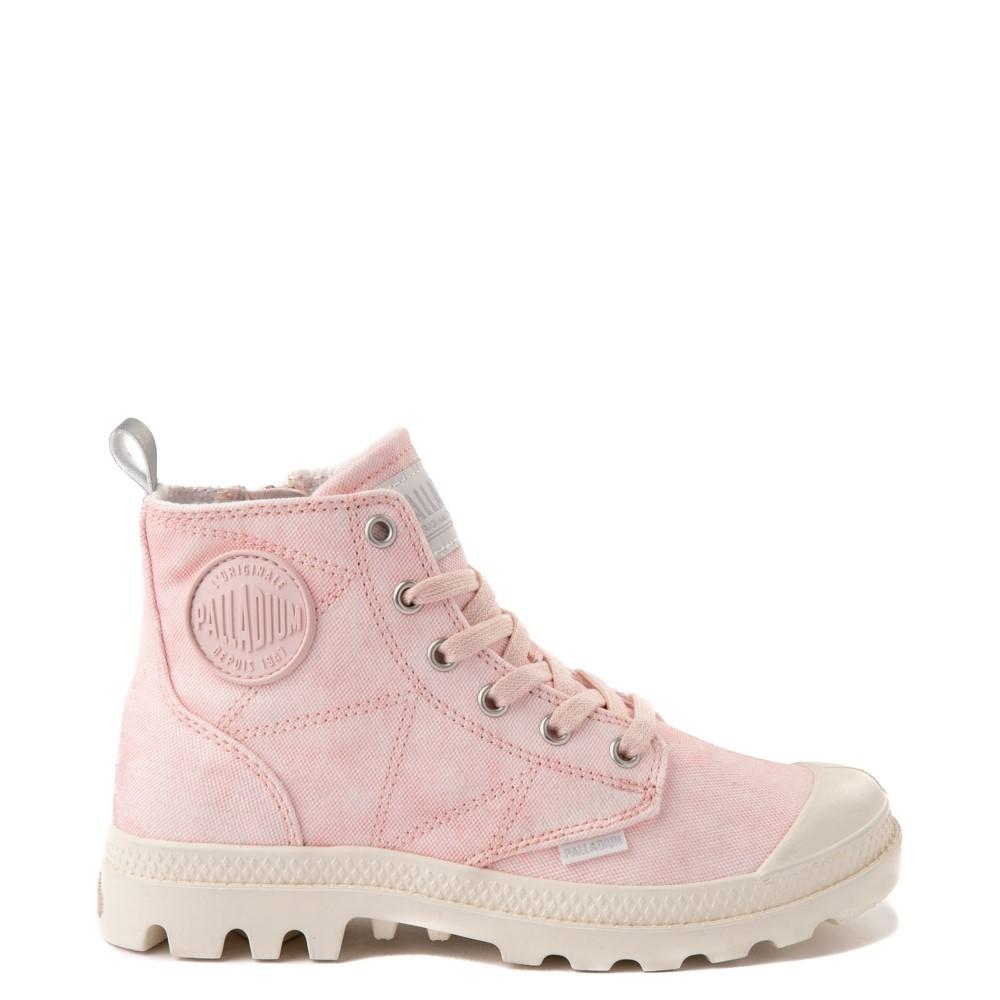 Womens Palladium Pampa Hi Zip Desertwash Boot - Pink