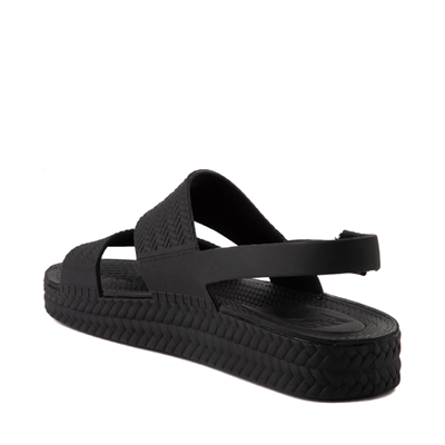 Alternate view of Womens Reef Water Vista Sandal - Black