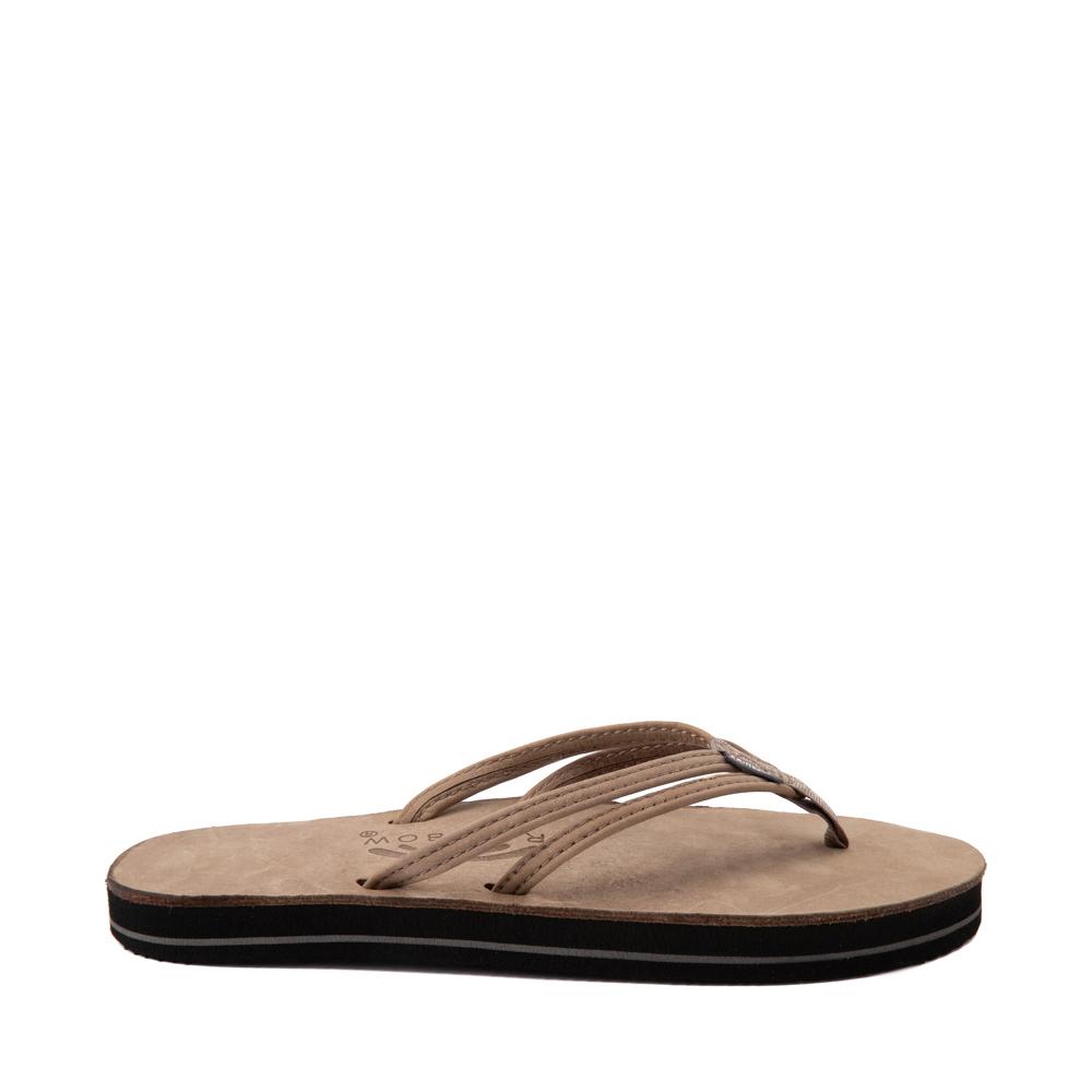 Womens Rainbow Sandpiper Sandal - Stone Gray