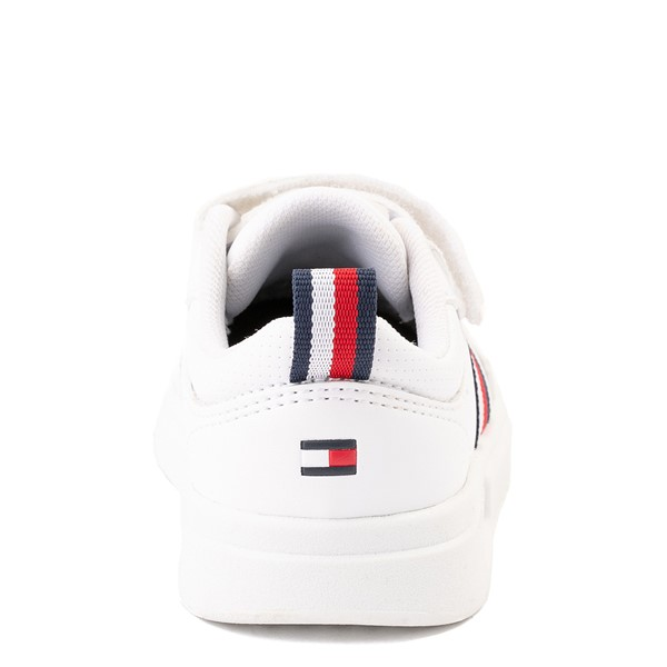 alternate view Tommy Hilfiger Cayman 2.0 Athletic Shoe - Baby / Toddler - WhiteALT4