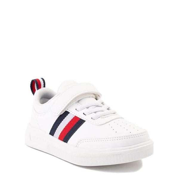 alternate view Tommy Hilfiger Cayman 2.0 Athletic Shoe - Baby / Toddler - WhiteALT5