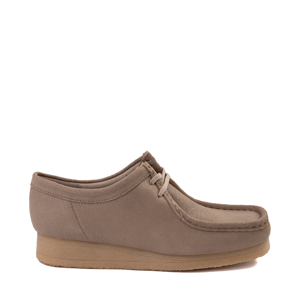 Womens Clarks Padmora Distressed Casual Shoe - Taupe