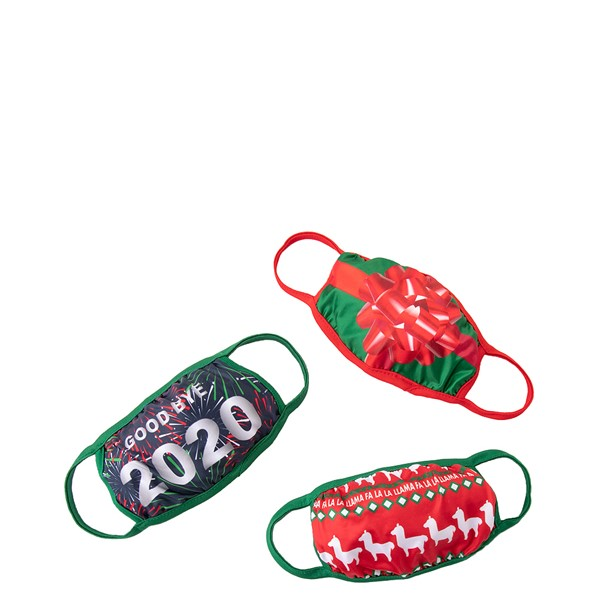 Holiday Face Cover 3 Pack - Multicolor