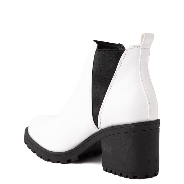 alternate view Womens Dirty Laundry Lisbon Chelsea Boot - WhiteALT1