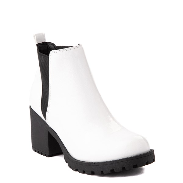 alternate view Womens Dirty Laundry Lisbon Chelsea Boot - WhiteALT5