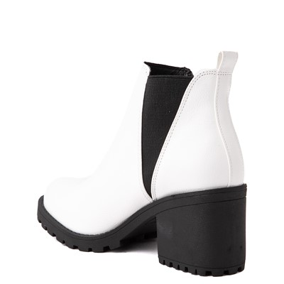 Alternate view of Womens Dirty Laundry Lisbon Chelsea Boot - White