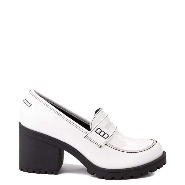 Main view of Womens Dirty Laundry Liberty Loafer - White
