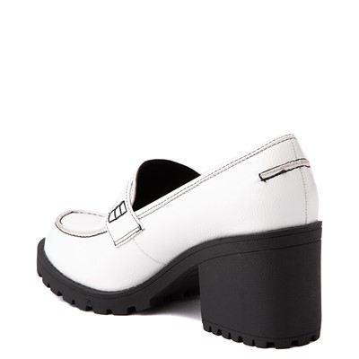Alternate view of Womens Dirty Laundry Liberty Loafer - White