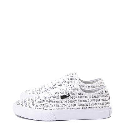Alternate view of Mens DC x Bob's Burgers Manual Skate Shoe - White