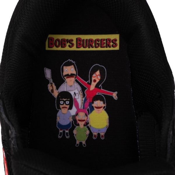 alternate view Mens DC x Bob's Burgers Pure Skate Shoe - BlackALT2C