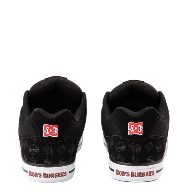 alternate view Mens DC x Bob's Burgers Pure Skate Shoe - BlackALT4