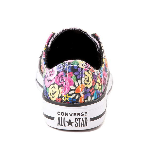 alternate view Converse Chuck Taylor All Star Lo Sneaker - Little Kid - Painted FloralALT4