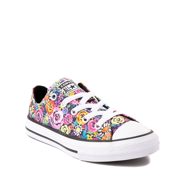 alternate view Converse Chuck Taylor All Star Lo Sneaker - Little Kid - Painted FloralALT5
