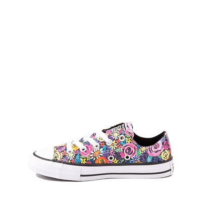 Alternate view of Converse Chuck Taylor All Star Lo Sneaker - Little Kid - Painted Floral