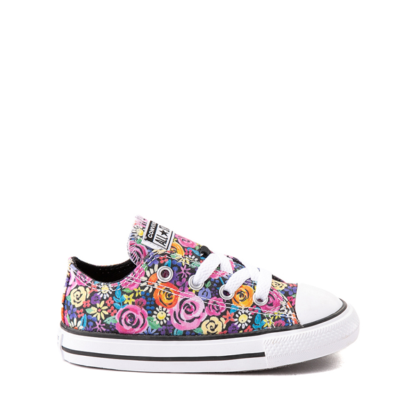 Main view of Converse Chuck Taylor All Star Lo Sneaker - Baby / Toddler - Painted Floral