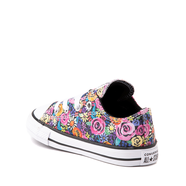alternate view Converse Chuck Taylor All Star Lo Sneaker - Baby / Toddler - Painted FloralALT1