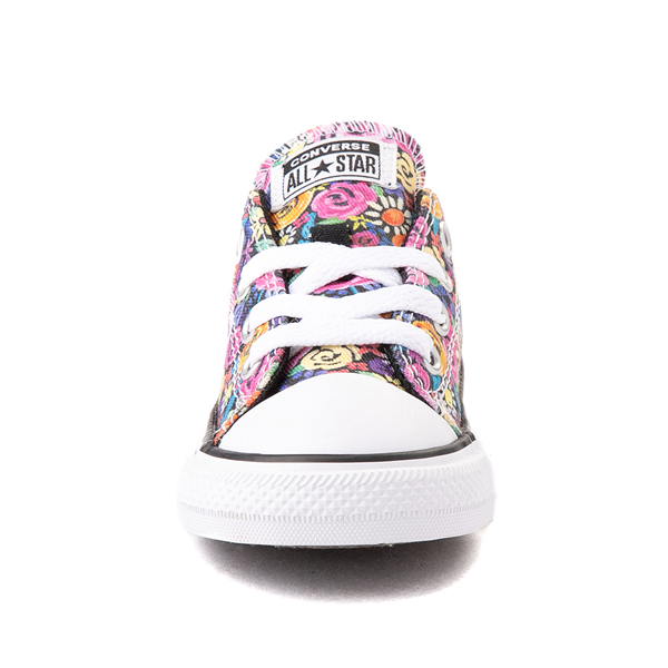 alternate view Converse Chuck Taylor All Star Lo Sneaker - Baby / Toddler - Painted FloralALT4