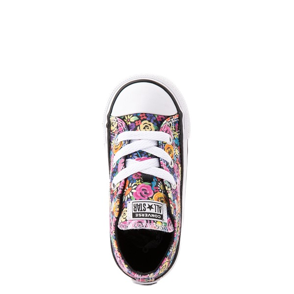 alternate view Converse Chuck Taylor All Star Lo Sneaker - Baby / Toddler - Painted FloralALT4B