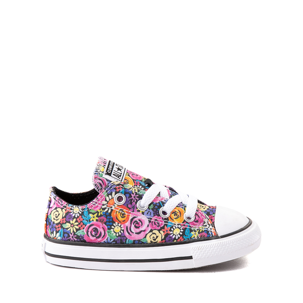 Converse Chuck Taylor All Star Lo Sneaker - Baby / Toddler - Painted Floral