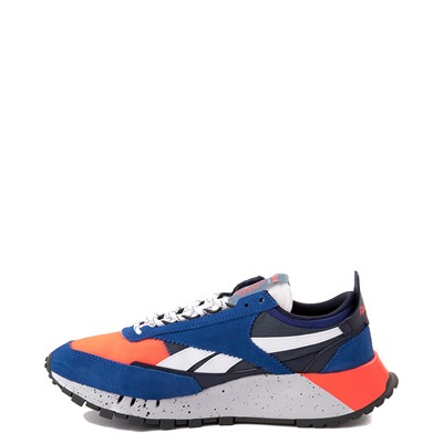 Alternate view of Mens Reebok Classic Legacy Athletic Shoe - Collegiate Royal Blue / Orange Flare / Brave Blue